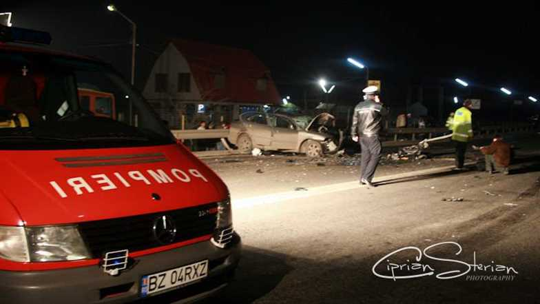 noapte accident