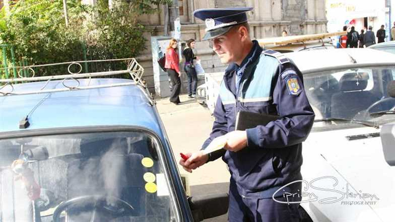 pliante masini politie