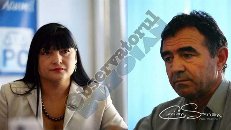 Daniela Dospinescu si Dumitru Nastase