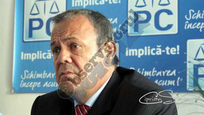 Gheorghe Vlase, lider PC Buzău
