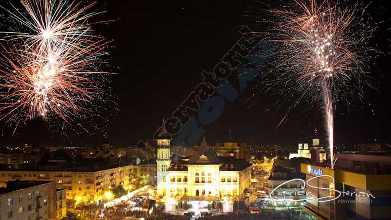 Artificii Buzau