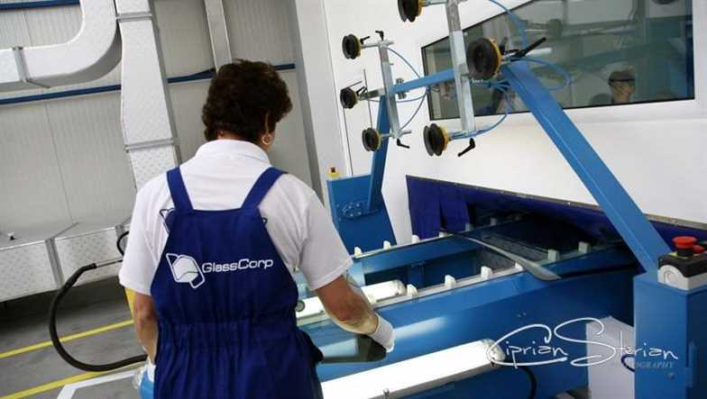 inaugurarea Glasscorp iunie 2008