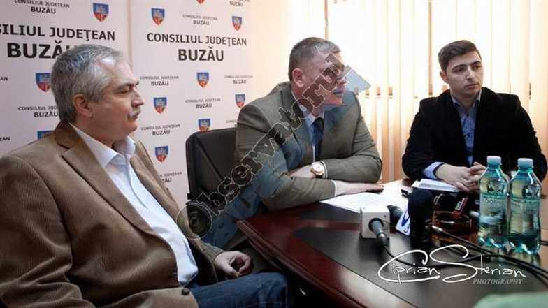 Conferinta CJ Buzau