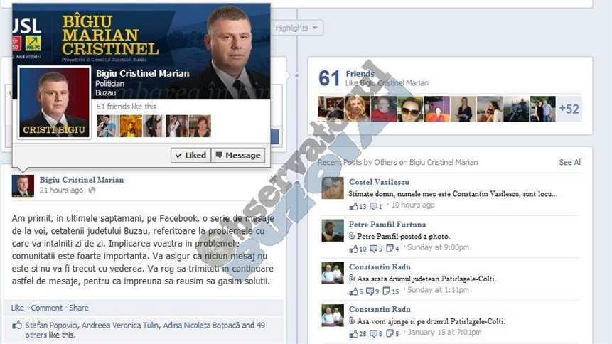 Facebook Cristi Bigiu