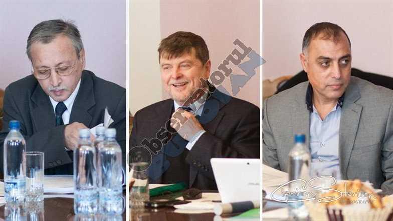 Liviu DUNAREANU, Vasile OLARIU si Marian NEAGU