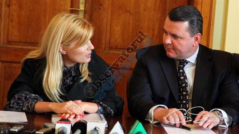 Elena UDREA si Constantin BOSCODEALA