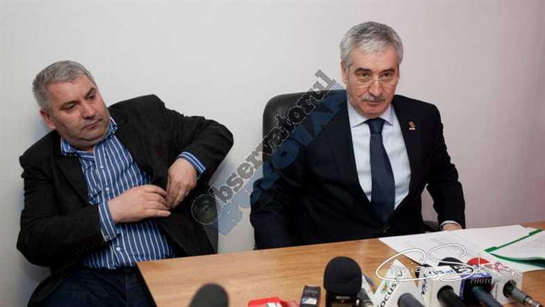 Gheorghe COMAN si Vasile NISTOR