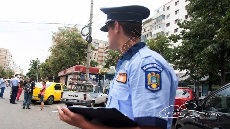 Student practica politie