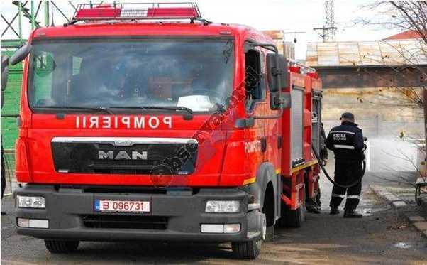 Autospeciala medie pompieri