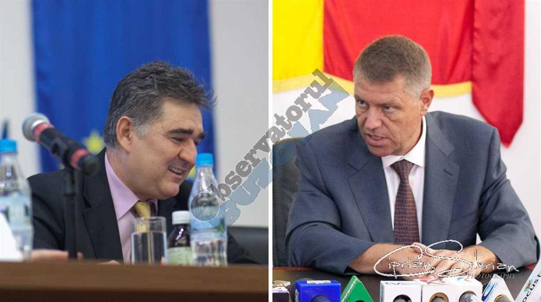 Ioan Ghise si Klaus Iohannis