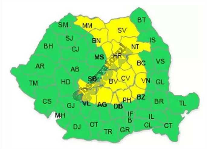 Harta COd Galben