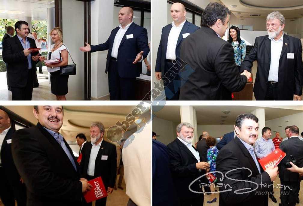 Mai încrezător ca niciodată Stelian Borzea a venit, a salutat și cu RESPECTUL în mână și în inimă a mers la mașina unui candidat să aducă o geantă neagră cu documente