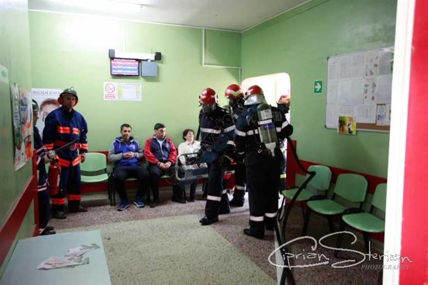 Simulare Image: GALERIE FOTO: Simulare De Incendiu La Spitalul Județean